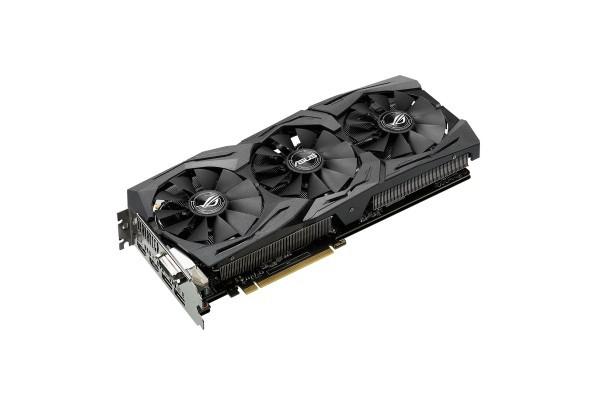 CARTE GRAPH. ASUS GeForce GTX 1060 O6G GAMING 6Go GDDR5