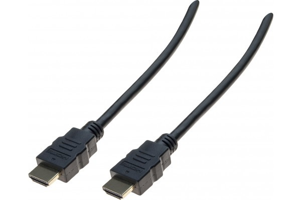 Cordon HDMI HighSpeed avec Ethernet eco  - 2 m