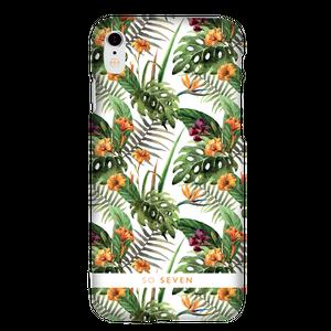 """""""Mode rio hibiscus"""" Coque jaune, pour Apple Iphone X"""
