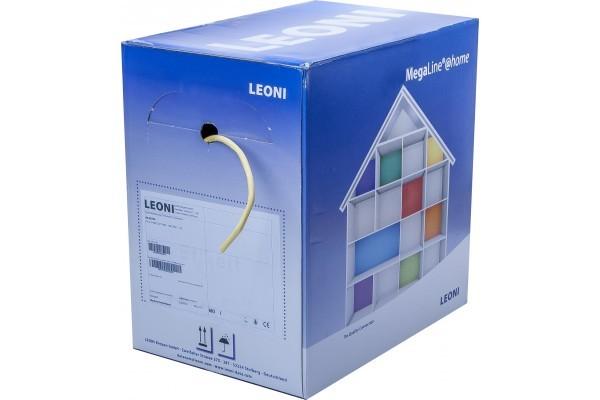 LEONI MegaLine E5-60 CAT6A U/FTP, 600 MHz, LS0H  250 m