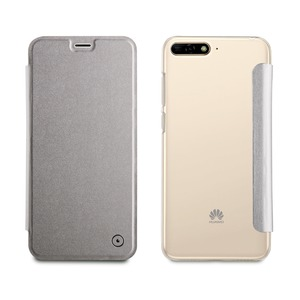 MUVIT ETUI FOLIO CASE POUR HUAWEI Y6 SILVER- NFC_