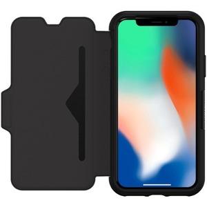 OTTERBOX Strada Series pour iPhone X - Noir