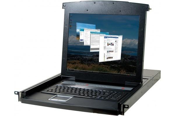 DEXLAN CONSOLE LCD 17 SIMPLE RAIL VGA/PS2/USB