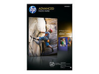 HP Advanced Glossy Photo Paper - papier photo - 60 feuille(s)