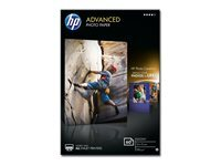 HP Advanced Glossy Photo Paper - papier photo - 60 feuille(s) - 100 x 150 mm - 250 g/m²