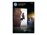 HP Advanced Glossy Photo Paper - papier photo - 25 feuille(s) - 100 x 150 mm - 250 g/m²