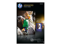 HP Advanced Glossy Photo Paper - papier photo - 100 feuille(s) - 100 x 150 mm - 250 g/m²