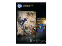 HP Advanced Glossy Photo Paper - papier photo - 50 feuille(s)