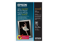 Epson Ultra Glossy Photo Paper - papier photo - 20 feuille(s) - 100 x 150 mm