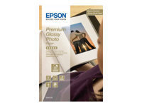 Epson Premium Glossy Photo Paper - papier photo - 40 feuille(s)