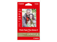 Canon Photo Paper Plus Glossy II PP-201 - papier photo - 50 feuille(s) - 100 x 150 mm - 260 g/m²