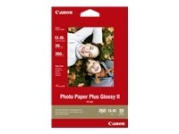 Canon Photo Paper Plus Glossy II PP-201 - papier photo - 20 feuille(s)