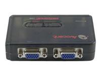 Avocent Switchview SV110 - commutateur écran-clavier-souris/audio - 2 ports