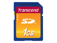 Transcend - carte mémoire flash - 1 Go - SD