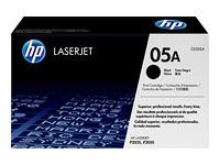 HP 05A - noir - originale - LaserJet - cartouche de toner (CE505A)