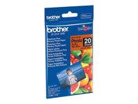Brother BP - papier photo - 20 feuille(s) - 100 x 150 mm