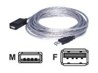 DACOMEX USB 2.0 link amplificator - rallonge de câble USB - 5 m