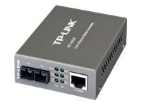 TP-LINK MC100CM - convertisseur de média à fibre optique - 10Mb LAN, 100Mb LAN