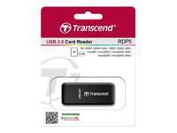 Transcend RDP5 - lecteur de carte - USB 2.0
