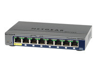 NETGEAR ProSAFE GS108T - Smart switch Web manageable 8 ports Gigabit garanti à vie
