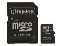 Kingston - carte mémoire flash - 16 Go - microSDHC