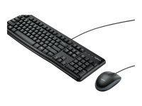 Logitech Desktop MK120 - ensemble clavier et souris - français