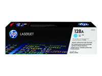 HP 128A - cyan - originale - LaserJet - cartouche de toner (CE321A)