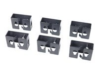 APC Cable Containment Brackets with PDU Mounting Supports de montage pour alimentation