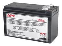 APC Replacement Battery Cartridge #110 - batterie d'onduleur - Acide de plomb