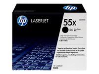 HP 55X - à rendement élevé - noir - originale - cartouche de toner (CE255XC) - Contract