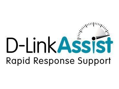 D-Link Assist Silver Category B - contrat de maintenance prolongé - 3 années - sur site