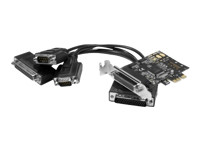 Carte Pci-Express 1X - 2Xrs232 +1Xparallele Low Profile