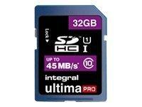Integral UltimaPro - carte mémoire flash - 32 Go - SDHC UHS-I
