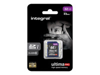 Integral UltimaPro - carte mémoire flash - 32 Go - SDHC UHS-I