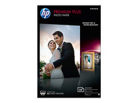 HP Premium Plus Photo Paper - papier photo - 25 feuille(s) - 100 x 150 mm - 300 g/m²