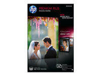 HP Premium Plus Photo Paper - papier photo - 50 feuille(s) - 100 x 150 mm - 300 g/m²