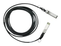 Cisco SFP+ Copper Twinax Cable - câble à attache directe - 5 m