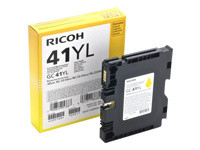 Ricoh GC 41YL - Low Yield - jaune - originale - cartouche d'encre