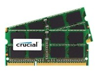 Crucial - DDR3 - 8 Go : 2 x 4 Go - SO DIMM 204 broches
