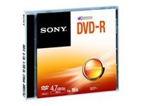 Sony DMR47SJ - DVD-R x 1 - 4.7 Go - support de stockage