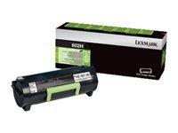 Lexmark 602H - à rendement élevé - noir - original - cartouche de toner - Entreprise Lexmark