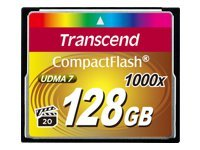 Transcend Ultimate - carte mémoire flash - 128 Go - CompactFlash