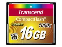 Transcend Ultimate - carte mémoire flash - 16 Go - CompactFlash