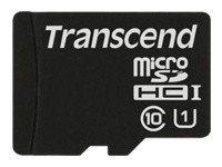 Transcend - carte mémoire flash - 16 Go - microSDHC
