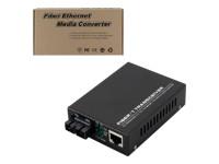 MCL Samar ETS-TF/SC-U - convertisseur de média à fibre optique - Ethernet, Fast Ethernet
