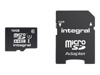 Integral UltimaPro - carte mémoire flash - 16 Go - microSDHC