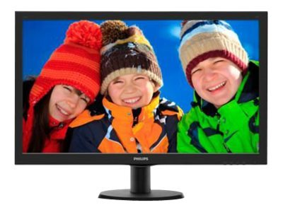 Ecran PHILIPS V-Line 273V5LHAB VGA/DVI/HDMI + HP - 27\'\'