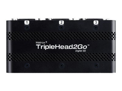 Matrox Graphics eXpansion Module TripleHead2Go - Digital SE - convertisseur vidéo