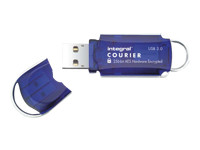 Integral Courier FIPS 197 Encrypted USB 3.0 - clé USB - 16 Go