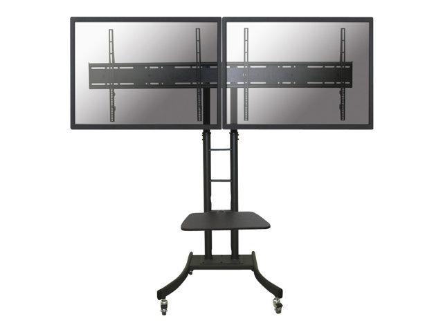 NewStar Mobile Dual TV Floor Stand PLASMA-M2000ED - chariot